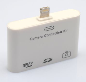 Lecteur de carte SD Camera Connection Kit 3 en 1 USB Lightning pour iPad 4 iPad Mini