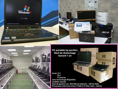 LOTS DE PC PORTABLES DERNIERE GENERATION