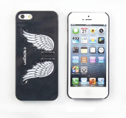 ANGEL WING Coque rigide avec le support pour iPhone 5