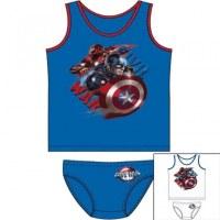 Capitán América 2 Piezas de 2 a 8 años