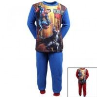 Batman Superman-polar pijamas de 4 a 8 años