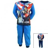 Capitán América polar pijamas de 2 a 8 años