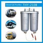 Diesel oil filter for vehicles