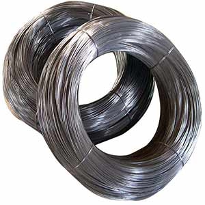 Corrosion resistant 300 series stainless steel coarse wire