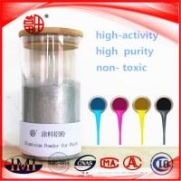 Polvo de aluminio para la aplicación de pigmentos para pintura Barnices
