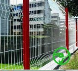 Selling pvc coated triangular bending fence for railway
