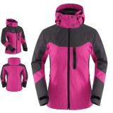 3 en 1 chaqueta de invierno al aire libre