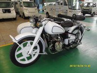New Style White Changjiang750cc 24hp Motorcycle Sidecar with Low Fuel Consumption