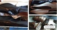 Muchos zapatos de marca