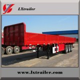 2/3/4 axles Side Wall Bulk Cargo Transport Semi Trailer