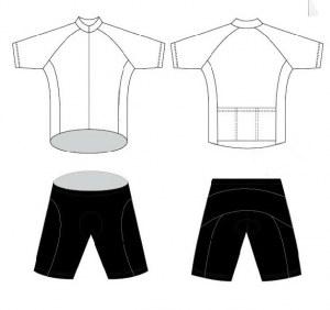Profesional de ciclismo fabricante de ropa