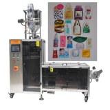 Sachet packing machine for cosmetics
