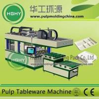 Producto de pulpa de papel biodegradable Tableware Vajilla Maquina, maquina