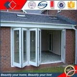 China, ventanas de doble acristalamiento de aluminio bisagras puerta, entrada puerta pl...