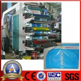 High Speed Packing Materials Flexographic Printing Machine 6 Color Lisheng