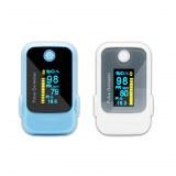 Two Color Finger Pulse Oximeter Pi Alarm Sound SpO2 Heart Rate CE DB18