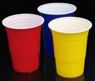 16oz 450ml Wholesale Price Food Grade PP Plastic Red Solo Home Party Cup