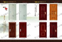 Wood Grain Steel Door
