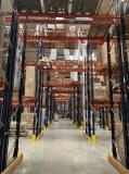 Rack à palette rayonnage industriel stockage occasion gros lot MECALUX