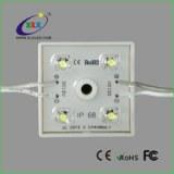 DC12V single color led channel letter 4leds square light