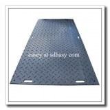 La mejor calidad de la ingeniería de plástico negro HDPE placa de carretera de plástico