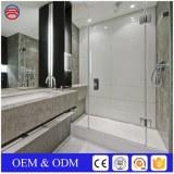 Low Iron Flat Frameless Tempered Glass For Shower Bathroom
