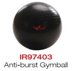 Bola de la estabilidad del ejercicio de la fuerza con la bomba