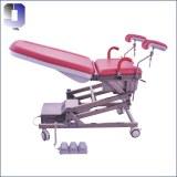 JQ-02C silla de entrega médica eléctrica silla de examen portátil de ginecología
