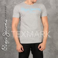 FOURNISSEUR DE LOT 7 TEE SHIRTS PEPE JEANS PM501524 GRIS