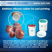 HY-918 RTV-2 Silicone Rubber For Pad Printing