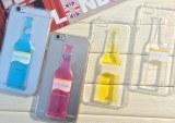 Liquid iPhone Cover Cocktail PU Phone Case