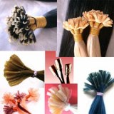 Human hair extensions keratin tip hair