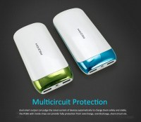 10000mAh Dual USB Power Bank Charger with Torch For iPhone 6