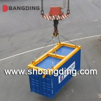 40 feet port container spreader lifting frame I type hydraulic