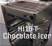 HI18-F Automatic Chocolate Donuts Cake coating Machine-Yufeng