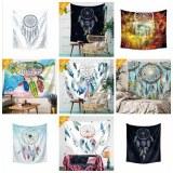 Printed Tapestry Fashion Sunbathe Round Beach Towel Large Microfiber Serviette De Plage...