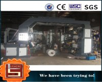 High Speed Packing Materials Flexographic Printing Machine 6 Color