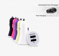 2.1A Dual USB Mobile Car Charger for HTC M9