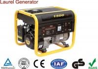 1kW Portable Gasoline Generator Single Phase Heavy Duty Design