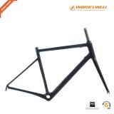 V Brake Racing Geometry Road Carbon Frame Designed For Endurance racing bike