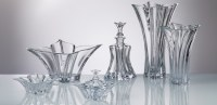 Vase , Bowl , Plateau, Chandelier- Cristal glass