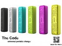 The Code 2800mAh Mini Portable Power Bank For Samsung Galaxy S5