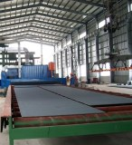 Section Steel Shot Peening Surface Cleaning Machine