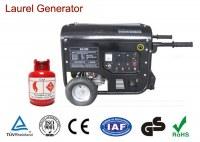 170F Engine Natural Gas Powered Generator Max Power 3kW Biogas Single / Three Phase
