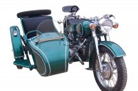 Customized Changjiang750cc 32hp Motorcycle with Sidecar with leather seats