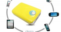 Sell portable power bank with led torch and double USB port