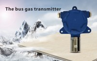 Bus-system gas detection transmitter