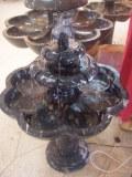 Fuente de mármol fosilizado