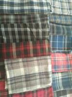 Supply yarn dyed flannel fabric