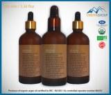 Biologique, huile d'argan pur à 100 ml / 1 fl oz avec compte-gouttes